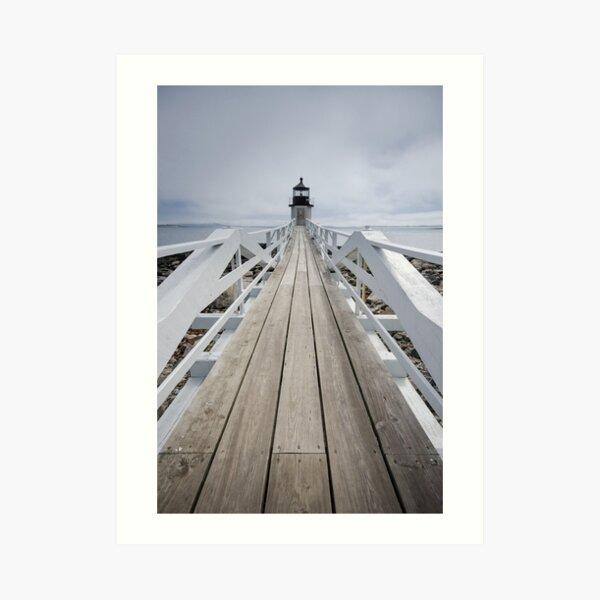 Marshall Point Light Art Print