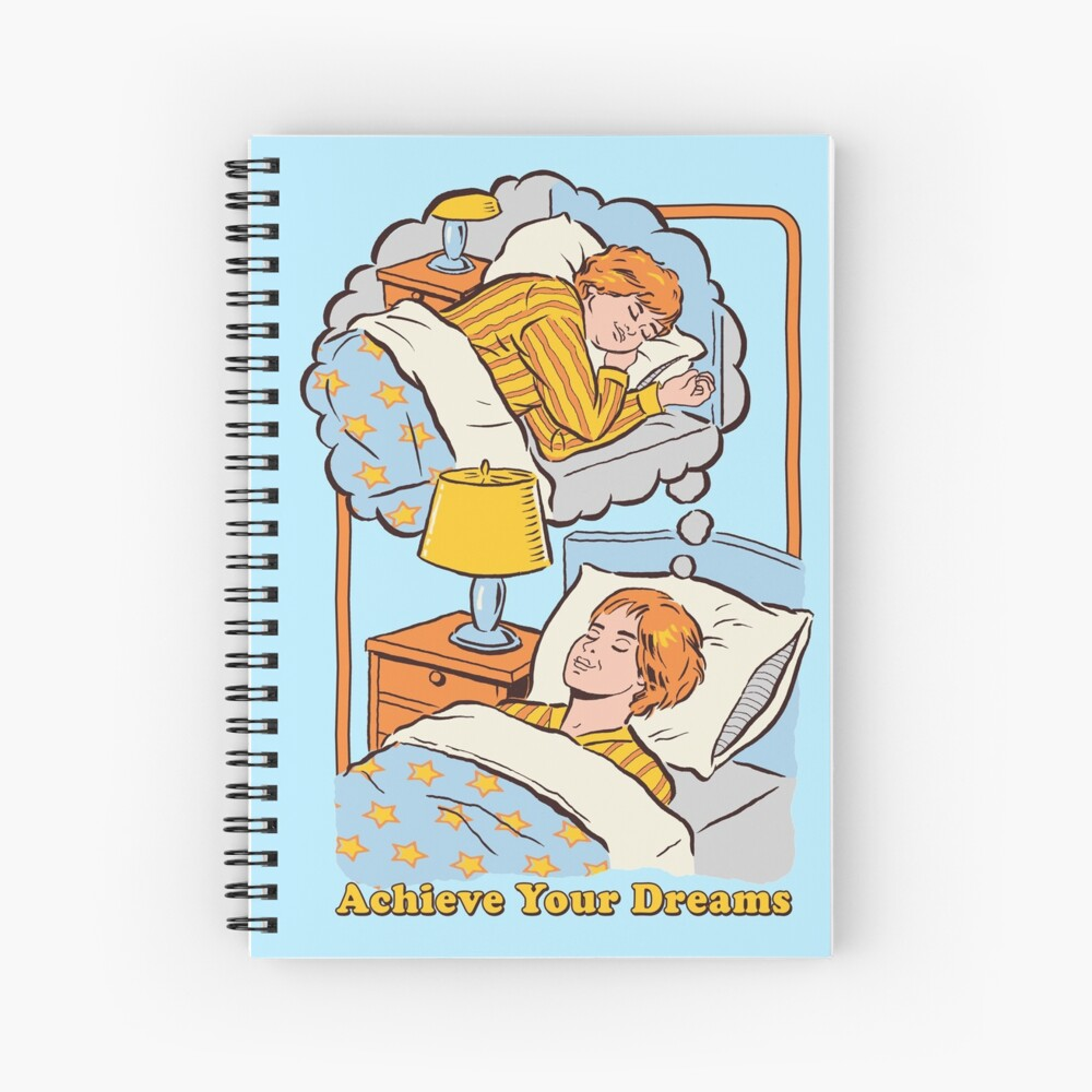 Achieve Your Dreams Spiral Notebook