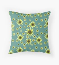 Yellow Daisy Floor Pillow