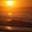 Vivid Ocean Sunrise by ChessJess