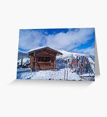Austrian Alps! Greeting Card