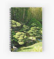 SF Japanese Tea Garden Study 8  Spiral Notebook
