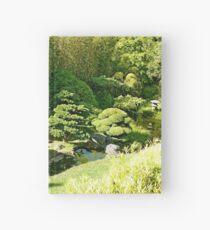 SF Japanese Tea Garden Study 8  Hardcover Journal