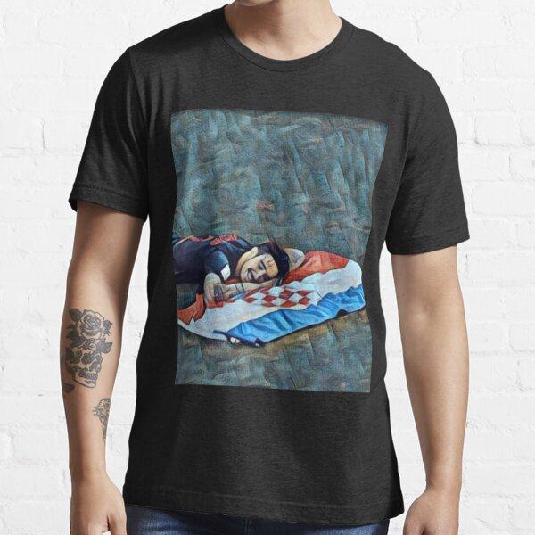 Vrsaljko Croatian flag Essential T-Shirt