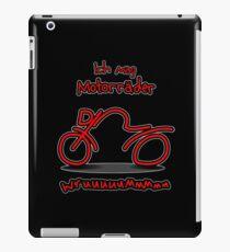 ich mag Motorräder iPad Case/Skin