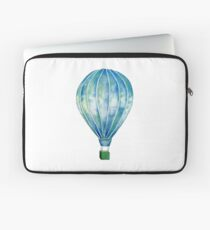 Watercolor Hot Air Balloon Laptop Sleeve