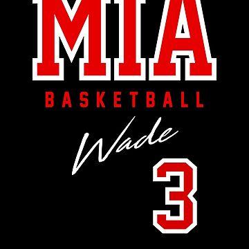 Wade, Miami Basketball  by BonafideIcon