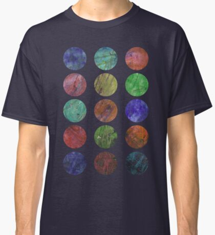 circles and textures Classic T-Shirt