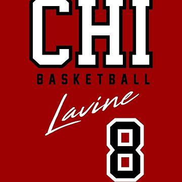 Zach Lavine, Chicago Basketball  by BonafideIcon