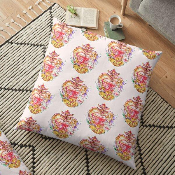 Fairy Charm of Love Floor Pillow