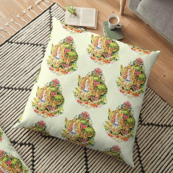 Fairy Charm of Health Floor Pillow