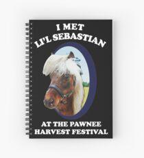lil sebastian Spiral Notebook