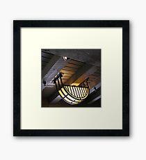 shining Framed Print