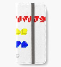 Creativity Over Hype (80s Version) iPhone Wallet/Case/Skin
