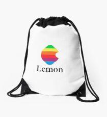 Full-blown Lemon Drawstring Bag