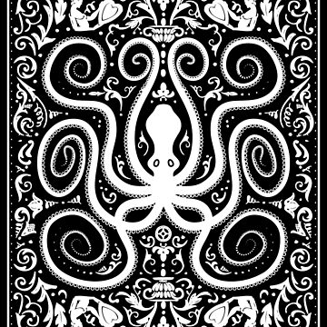Filigree Octopus by wmbarryroberts
