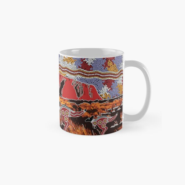 Uluru | Ayers Rock - Authentic Aboriginal Arts Classic Mug