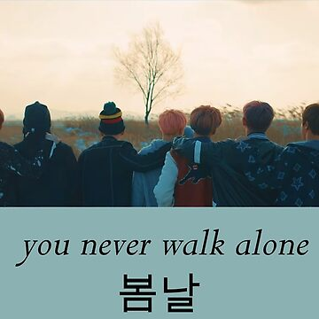 BTS 방탄소년단-Spring Day 봄날-You Never Walk Alone  by Lhethril