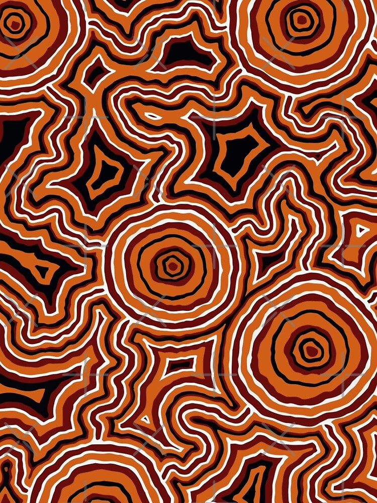 Aboriginal Art - Pathways - Authentic Design by HogarthArts