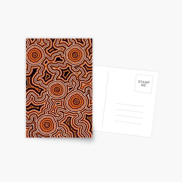 Authentic Aboriginal Art - Pathways - Authentic Design Postcard