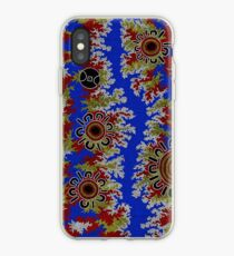 Aboriginal Art Authentic - Waterhole Dreaming (Corela) iPhone Case