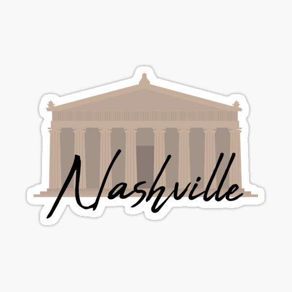 Nashville (The Parthenon) Sticker