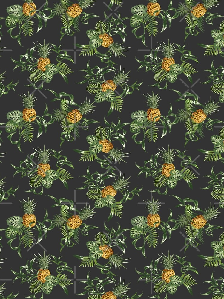 Pineapple Tree Flower Lily Flora  by thespottydogg