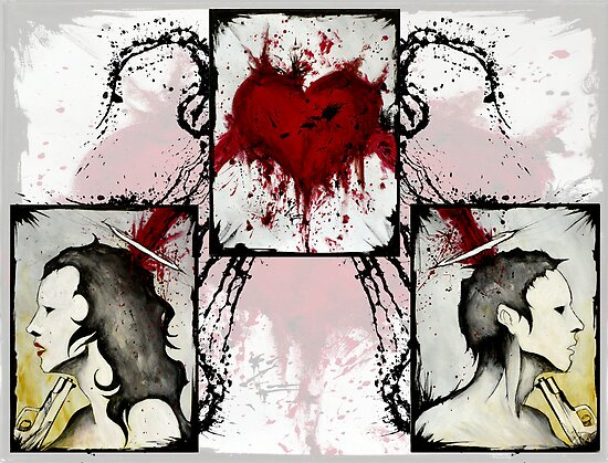 Love Is Suicide by Shawn Coss