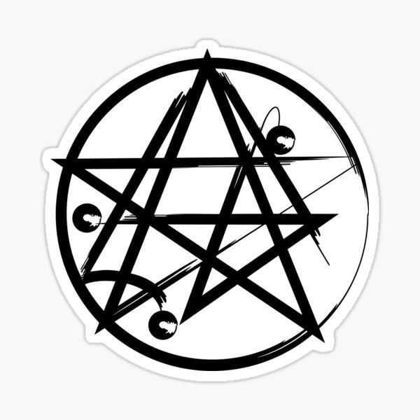 Hp Lovecraft Cultic Cthulu Symbol Sticker
