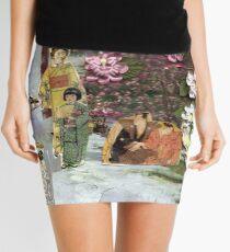 Japanese Garden Mini Skirt
