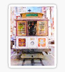Cable Car No. 10 Sticker