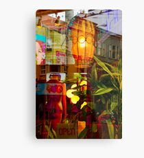 Haigh-Ashbury Collage Metal Print