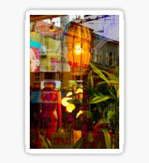 Haigh-Ashbury Collage Sticker