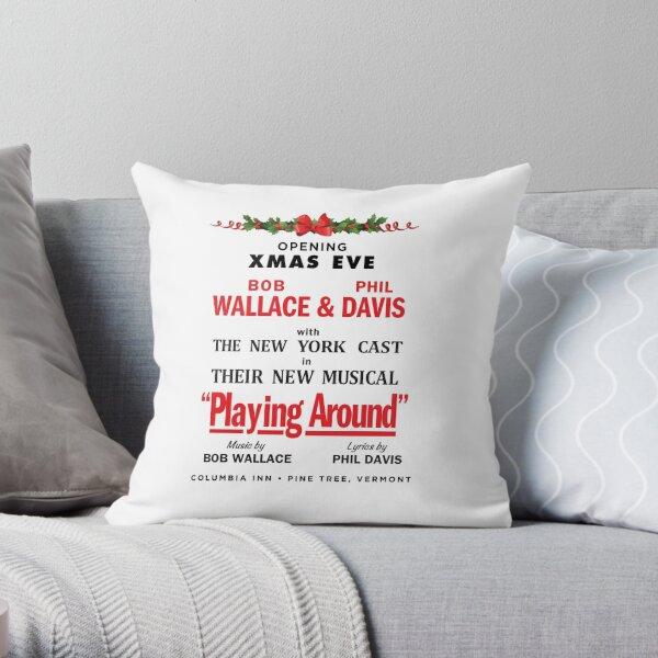 """White Christmas """"Playing Around"""" Promo Throw Pillow"""