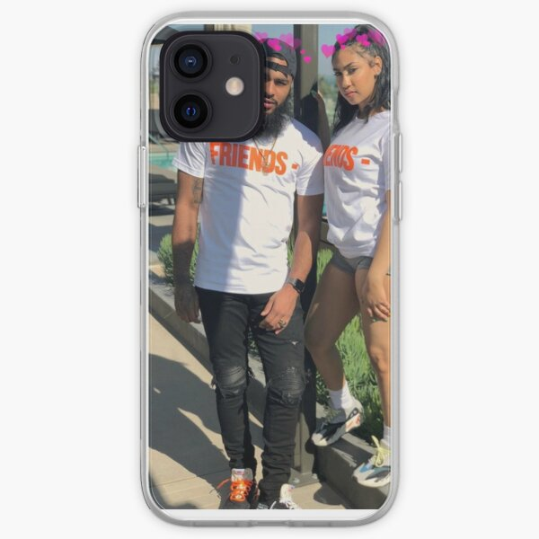 Queen Naija & Clarence iPhone Soft Case