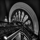 Staircase Addiction - Queen Victoria Building, Sydney SQUARE FORMAT by Philip Johnson
