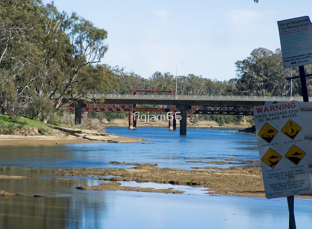 River crossings at Tocumwal ….  by figjam66