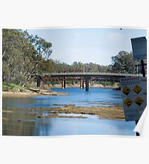 River crossings at Tocumwal ….  Poster