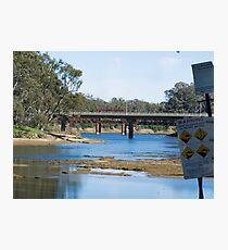 River crossings at Tocumwal ….  Photographic Print