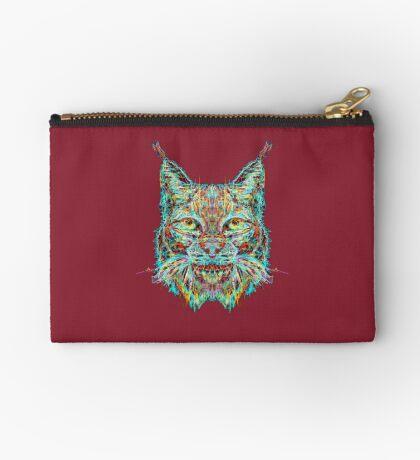 Lynx Zipper Pouch