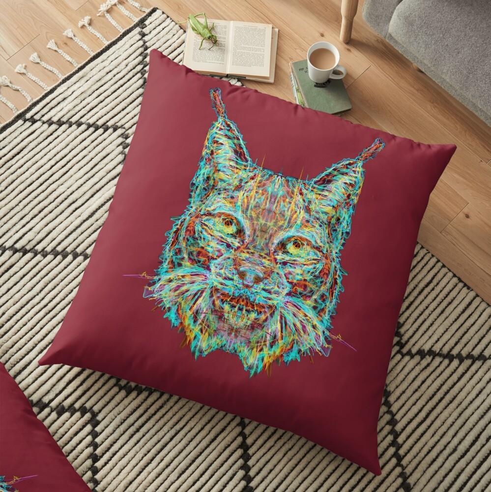 Lynx Floor Pillow