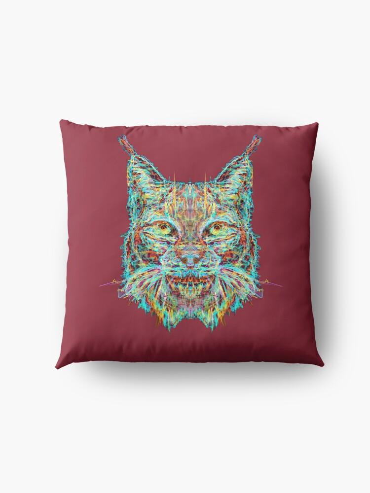Alternate view of Lynx Floor Pillow