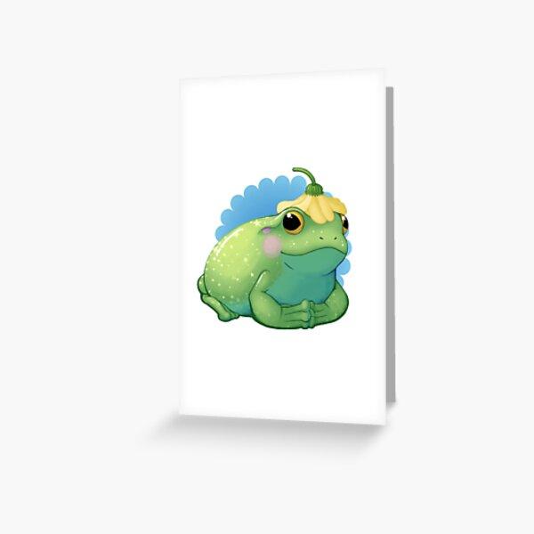Frog Royalty Greeting Card