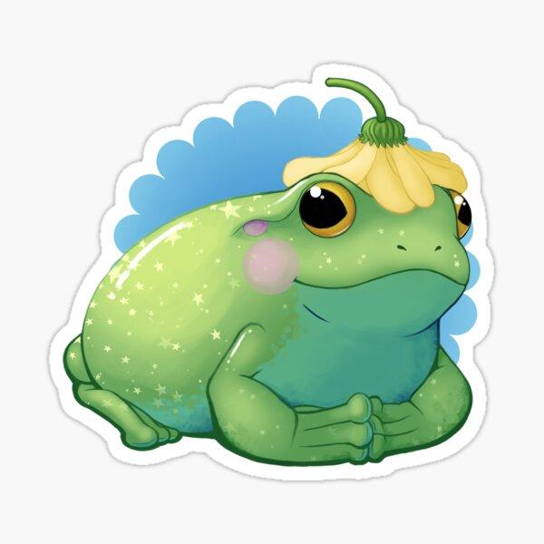 Frog Royalty Sticker