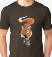 Cool Red Fox Cartoon Unisex T-Shirt