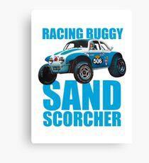 Sand Scorcher Racing Buggy Canvas Print