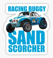 Sand Scorcher Racing Buggy Sticker