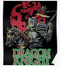 Dragon knight Poster