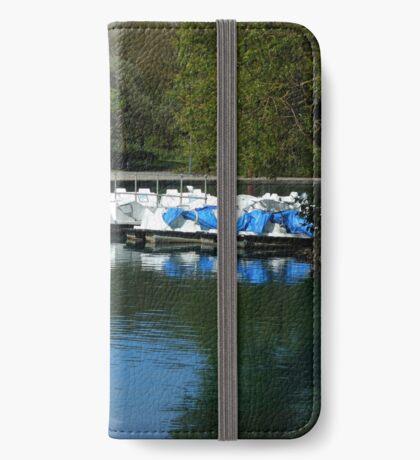 Boote - South Marine Park, Südschilder iPhone Flip-Case