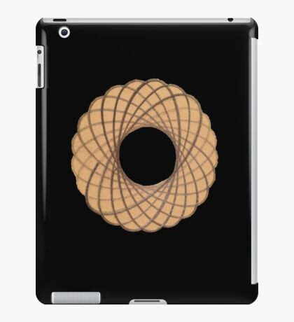 Spirograph on old paper iPad Case/Skin